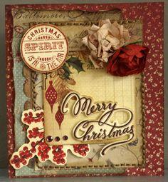 Card: Merry Christmas *New Kaisercraft *