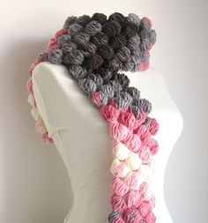 Multibubble Scarf Dream by Clariceonline on Etsy