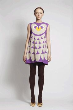 love this owl dress by romance was born!