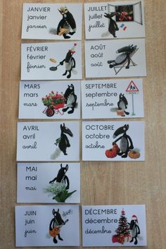Semainier Loup -miminesenfolie sabryna- (4) Infant Activities, Activities For Kids, Petite Section, Grande Section, French Verbs, French Classroom, Cycle 3, Circle Time, Help Teaching