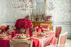 Romantic Tablescapes - TownandCountrymag.com