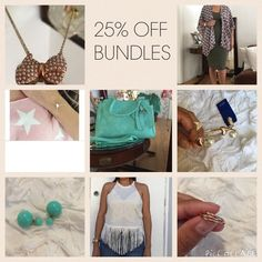 25% OFF BUNDLES EVERYDAY Brand new listings, take advantage of this great discount. Dresses
