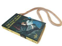 Nancy Drew Book Purse Shoulder Handbag  Leaning by retrograndma, $39.99