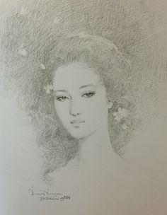 Pencil drawing, 2008, by Chakrabhand Posayakrit, a Thai national artist