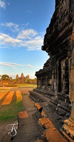 Angkor Wat . Siem Reap, Cambodia