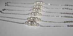 Bridesmaid Jewelry Pearl Gift Sets