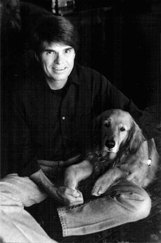 Dean Koontz with Trixie