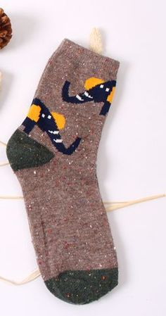 Vintage thick rabbit wool  socks