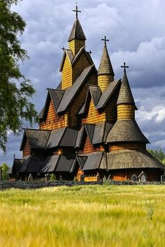 Architecture - The Church -Heddal stave church ,Norway