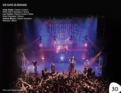 We Came As Romans: Andy Glass, Lou Cotton, Joshua Moore - Clayton Catalog