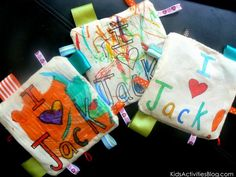 Baby toy for an older sibling to make-great way to get older siblings ready for a new baby!