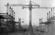 Construction of new #Graving Dock - year #1955