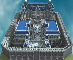 Royal mansion - A hybrid spawn with download! Minecraft Project