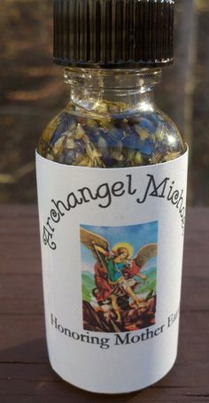 1 oz Arch Angel Michael Oil Voodoo Hoodoo by HonoringMotherEarth, $11.75