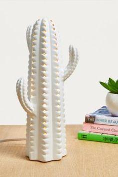 Ceramic Cactus Table