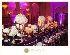 Wedding Day, Reception, Ivory Rose, Silver, Dark Purple, The Vinoy Renaissance St. Petersburg Resort & Golf Club, Limelight Photography, www.stepintothelimelight.com