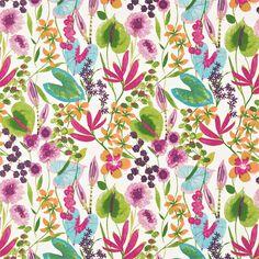 Style Library - The Premier Destination for Stylish and Quality British Design   Products   Nalina Fabric (HAMA120331)   Amazilia Fabrics   By Harlequin