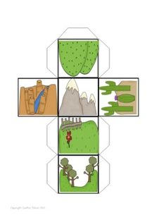 Landform Cube Toss $2 Perfect rolling and writing facts!  Easy assessment tool.