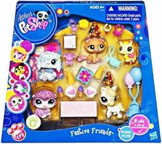 Littlest Pet Shop Playset Festive Friends #1 [Includes Bumblebee!] M y cousin Kayla has this and she said tshe got it on .eBay in the package. Cost 99.00