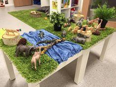Välkommen till djurens värld! Kreativt! #förskola #preeschool #kindergarten #reggioemilia #djur och natur