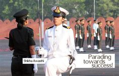 Shikha Awasthi , a cadet of the Armed Forces Medical College (AFMC) become the first woman to receive a Sword of Honour for overall excellence at the passing-out parade of the institute. She also was the first graduate of AFMC to receive all three top honours, namely, the Sword of Honour, the Presidents Gold Medal and the Kalinga Trophy. More power to women like Shikha! #NoGenderBias