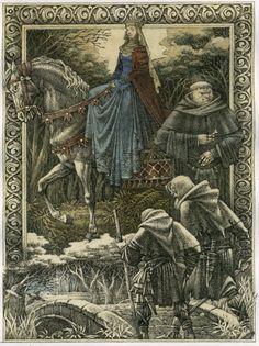 """Robin Hood"" series of illustrations for publishing ""Templar classic"" USA. 2010."