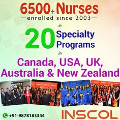 Open the world of opportunities! Become a #RegisteredNurse in Canada, UK, USA, Australia and New Zealand!