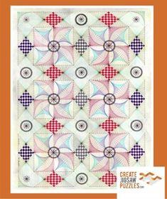 Sashed Pinwheels - 2