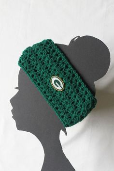 Green Bay Packers Football NFL Headband by ThatGirlsCrafts on Etsy, $15.00