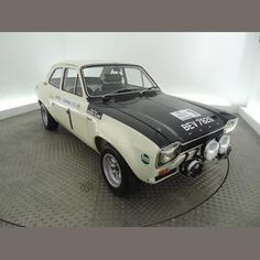 Ex-Works 1968 Ford Escort Twin Cam Mk1 Rally Saloon   1st 1969 Circuit of Ireland (Roger Clark/Jim Porter), 1st 1969 Welsh (Ove Anderson/Gunnar Palm), 4th 1969 Rallye Monte Carlo (Jean-Francois Piot/Jean Todt), and also started 1969 San Remo and RAC Rallies (Hannu Mikkola/Mike Wood), and Scottish (Clark/Porter)  Chassis no. BB49HT35069 Sold for £70,940 inc. premium