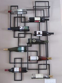 Wine Rack Vertical Storage
