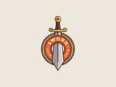 Sword by Vladimir Biondic #Design Popular #Dribbble #shots