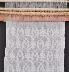 Display Loom: White-on-White Motifs | ClothRoadsClothRoads