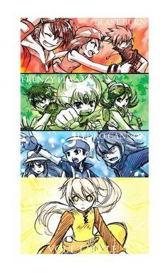 I have frenzy plant as one of my moves for Decidueye, I liked leaf blade better though Pokemon Manga, Pokemon Comics, Pokemon Fan Art, Pokemon Ships, Pokemon Games, Anime Manga, Digimon, Yuri Cosplay, Pokemon Adventures Manga