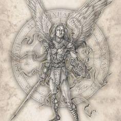 Archangel Michael by jayfrench.deviantart.com on @deviantART