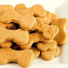 Flea Terminator Dog Treats 3 cubes beef bouillon 1 1/2 cups boiling water 2 cups whole wheat flour 1 cup cornmeal 2/3 cup brewers' yeast 2 tablespoons garlic powder 2 egg yolks Bake @ 375 for 20 mins.