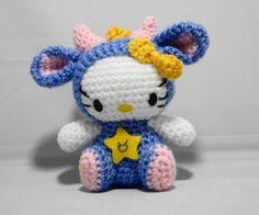 Amigurumi Hello Kitty Horoscope/Zodiac Series: Taurus by OrangeZoo, via Flickr