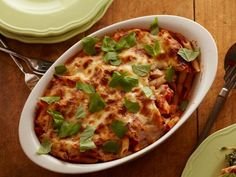Making homemade tomato sauce really allows you to control what goes into it. In this Cheesy Spinach Baked Penne, it's mixed up with chunks of mozzarella for extra bursts of gooey goodness, along with cottage cheese for all the satisfying qualities of ricotta with only a fraction of the fat and calories.