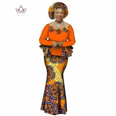 2020 Autumn African Skirt Set For Women Dashiki 2 Piece Sets African Clothes Elegant Traditional African Clothing Latest African Fashion Dresses, African Print Dresses, African Dresses For Women, African Print Fashion, African Attire, African Skirt, Traditional African Clothing, Traditional Outfits, African Wear Styles For Men