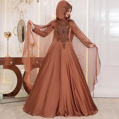 Satin Dresses, Formal Dresses, Wedding Dresses, Black Abaya, Hijab Bride, Bridal Makeup Looks, Hijab Dress, Abaya Fashion, The Dress
