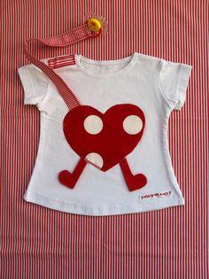 Maglietta MAMMANO bimba cuore