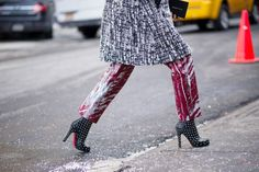 #NYFWFALL2014 #FALL2014TRENDS : Anya Ziourova - The Cut; THE SHOES