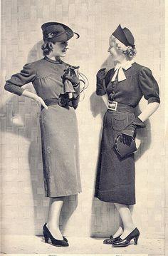 Fashion. <3 1930's