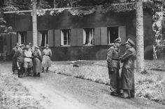 Hermann Goering em Wolfschanze.