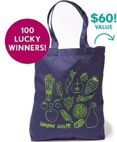 Eating Well Runner Swag Bag Sweepstakes - http://freebiefresh.com/eating-well-runner-swag-bag-sweepstakes/
