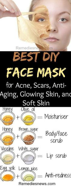 5 Best DIY Face Mask for Acne Scars Anti-Aging Glowing Skin and Soft Skin. Try this to get rid of acne and blackheads The post 5 Best DIY Face Mask for Acne Scars Anti-Aging Glowing Skin and Soft Skin appeared first on Diy Skin Care. Diy Peel Off Face Mask, Best Diy Face Mask, Best Homemade Face Mask, Anti Aging Skin Care, Natural Skin Care, Anti Aging Face Mask, Natural Face Masks, Natural Beauty, Natural Makeup