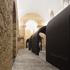 Damião de Góis Museum and the Victims of the Inquisition / spaceworkers, © Fernando Guerra Arcade Architecture, Museum Architecture, Historical Architecture, Amazing Architecture, Contemporary Architecture, Architecture Details, The Inquisition, Brick Arch, Old Building