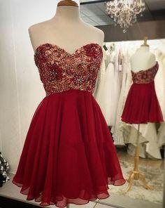 Short Prom Dress Short homecoming dress S013