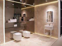 Nuevos muebles de #baño y acabados en griferías completan Chelsea #XXIIPorcelanosaExhibition Noken Baños Porcelanosa