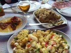 Comida en A Rúa, Ourense, Galicia